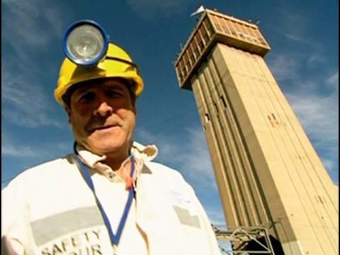 Johnny Clegg Goes Underground At Tau Tona Gold Mine