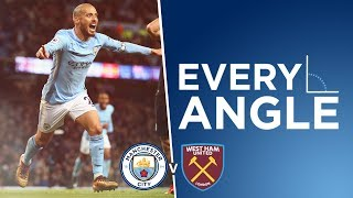 DAVID SILVA VOLLEY! | Every Angle - David Silva
