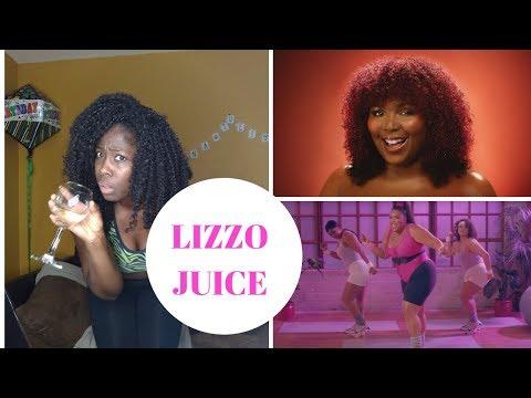 """LIZZO """"JUICE"""" REACTION Mp3"""