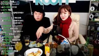 6 크리스마스 특집 BJ미유 와 달달한 술먹방  KoonTV