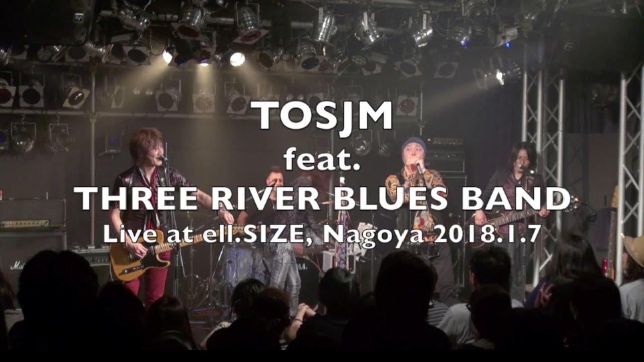 Three River Blues BandのLive動画が公開されました