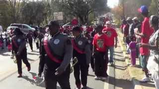 James Seals Mighty Marching Tigers @ Prichard Christmas Parade