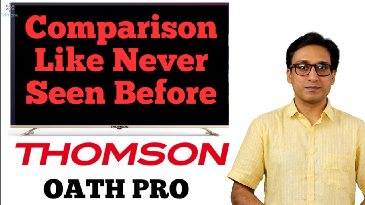 Thomson Oath Pro COMPARISON LIKE YOU HAVE NEVER SEEN ⚡⚡