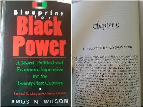 Dr amos wilson blueprint for black power chapter 9 part 1 ram dr amos wilson blueprint for black power chapter 9 part 1 ram bookclub malvernweather Gallery