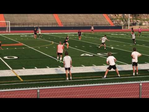 TIMPVIEW VARSITY GIRLS  SOCCER 2017 SCRIMMAGE BOYS 1ST HALF