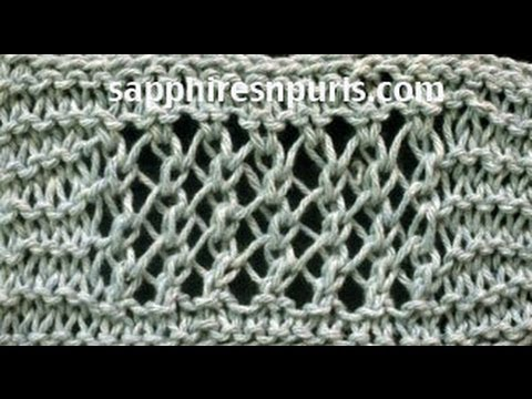 Adding More Stitches Knitting : Add a Garter Stitch Border to Knitting - YouTube