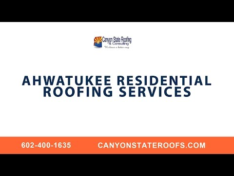 Ahwatukee Residential Roofing Services With Canyon State