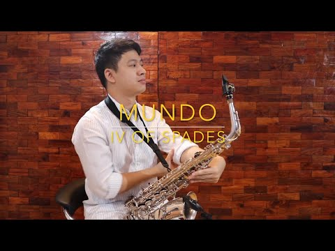 Mundo - IV of Spades (Saxophone Cover) Saxserenade