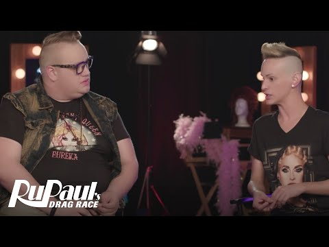 Queen To Queen: Eureka O'Hara & Cynthia Lee Fontaine | RuPaul's Drag Race Season 9 | Now on VH1