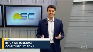 Escalada e Início do Bom Dia SC - 31/10/2018 | NSC TV - Florianópolis