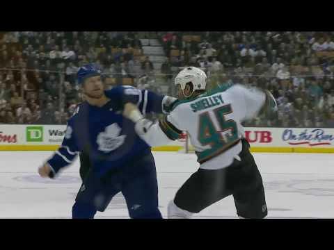 (HD) Jody Shelley Knocks Out Colton Orr 2-8-10.mpg