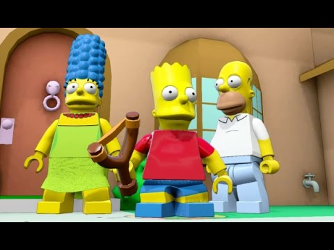 LEGO Dimensions - Simpsons World 100% Guide (All Collectible