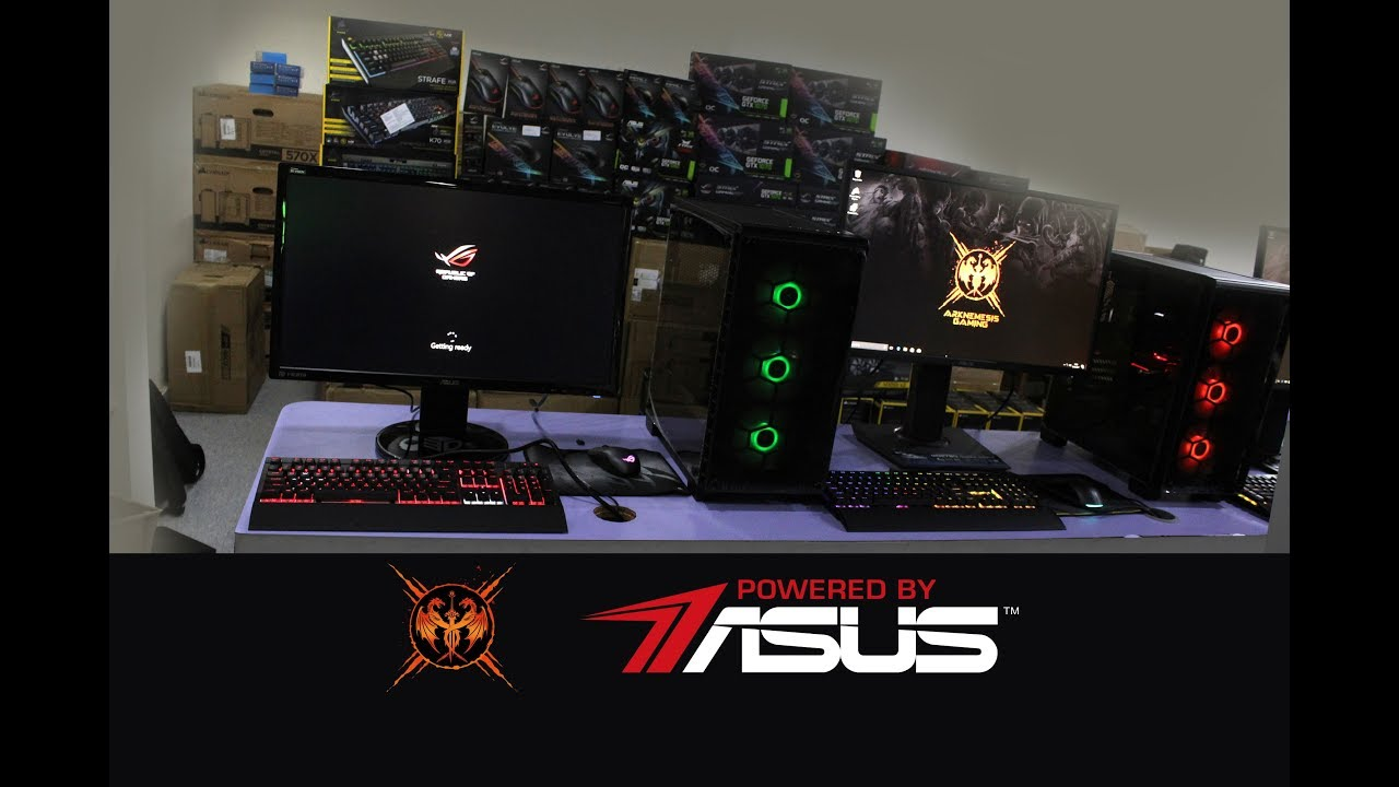 Arknemesis Gaming – 68 Machines Powered by ASUS