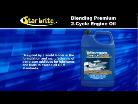 Star brite Super Premium Synthetic Blend TC-W3 2-Cycle Engine Oil
