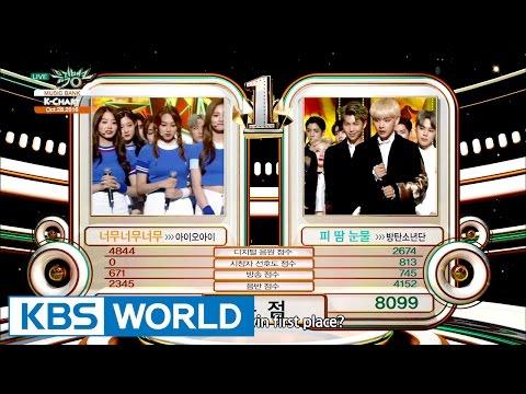 [Music Bank K-Chart] 4th Week of October - I.O.I vs BTS (2016.10.28)
