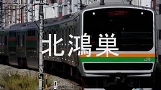 初音ミクがロストユニバースのOPで高崎線・湘南新宿ラインの駅名歌う。 初音ミク 動画 16