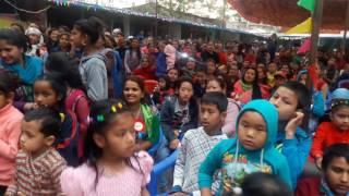 Shreedevi Devkota in school programme  At  Naya bazar