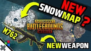 SNOW MAP! PUBG Mobile Season 4 Update