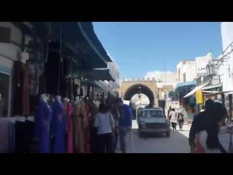 Walking Through the Medina in Kairouan   Tunisia   April 2015
