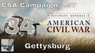 GETTYSBURG REVISITED (3 Day Battle) - Ultimate General Civil War CSA Campaign #34