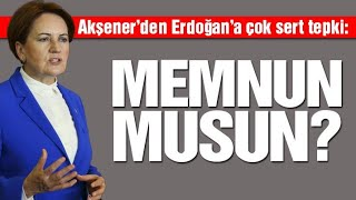 İYİ Parti Grup Toplantısı 4 Şubat / Meral Akşener'den Erdoğan'a ağır sözler: Memnun musun?