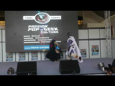 related image - Mangame Show - Fréjus - 2016 - Concours Cosplay Dimanche - 09 - Groupe médieval