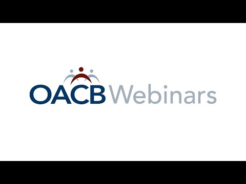OACBVideos: Managed Care - An Overview for SSAs (Webinar)