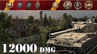 World of Tanks / FV215b (183) .. 12000 Dmg
