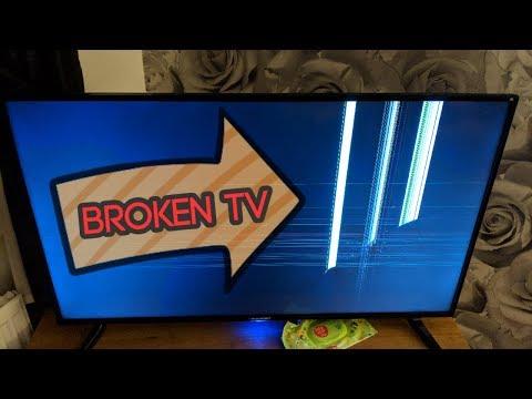 Broken TV #stevesfamilyvlogs