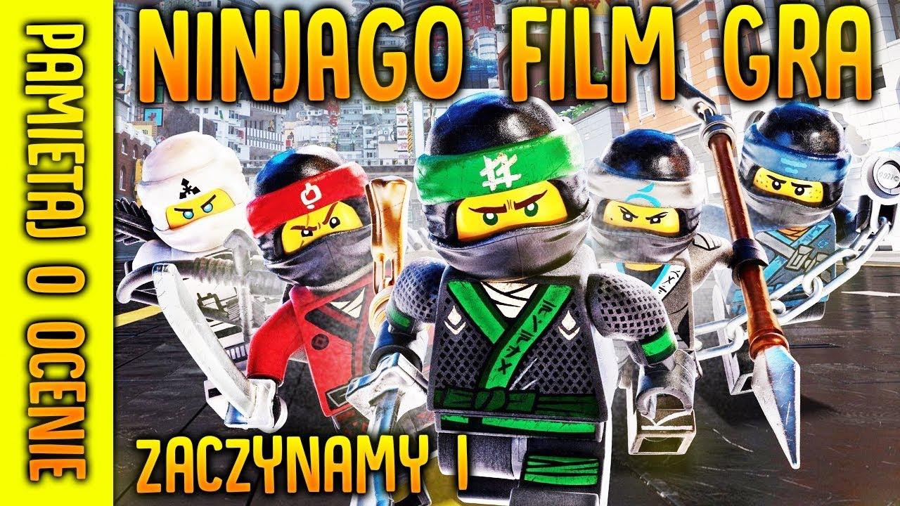 LEGO NINJAGO MOVIE GRA – LEGO NINJAGO FILM GRA – PREMIERA!