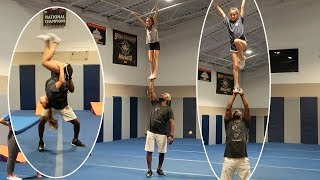 Cheer and Tumbling Class Behind the Scenes!