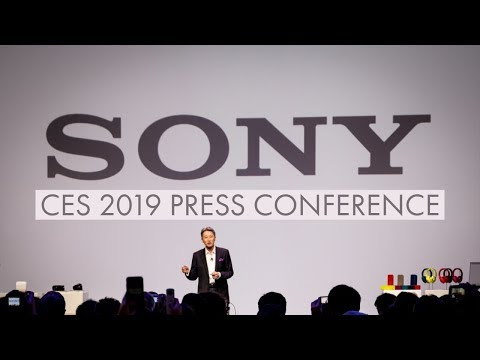 Sony Ces 2019 Press Conference Live Stream