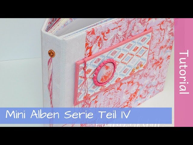 Mini Album Tutorial Series Part 4 - Stack the deck - Stampin' Up! - YouTube