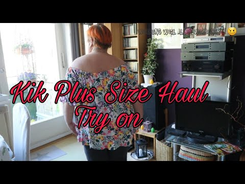 Kleiner Kik Haul & Try On |Plus Size| UnsereWelt/Ille