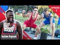 watch he video of Strongman Competition w/ Rhett & Link | Kevin Hart: What The Fit Episode 7 | Laugh Out Loud Network