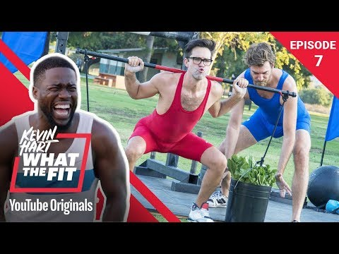 Strongman Competition w/ Rhett & Link | Kevin Hart: What The Fit Episode 7 | Laugh Out Loud Network