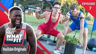Download Strongman Competition w/ Rhett & Link | Kevin Hart: What The Fit Episode 7 | Laugh Out Loud Network Mp3 and Videos