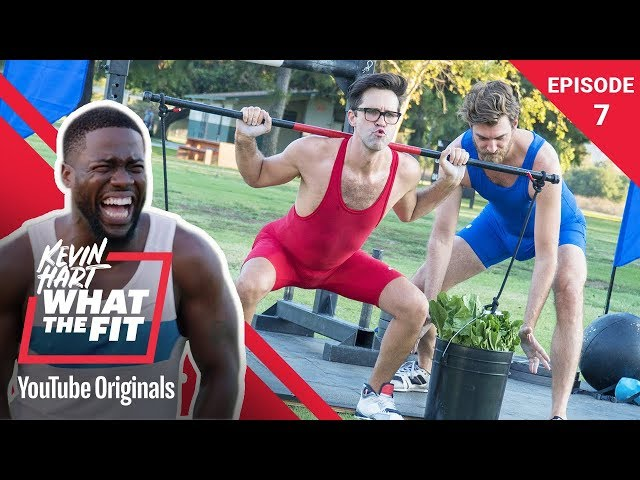 Strongman Competition Rhett & Link | Kevin Hart: What The Fit Episode 7