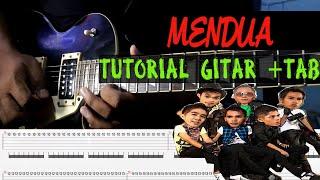 Tutorial Gitar PLAT Band - Mendua + TAB mudah dan Gampang