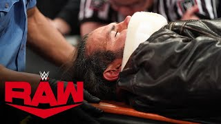 Unaired footage of Matt Hardy after Randy Orton's attack: Raw Exclusive, Feb. 17, 2020