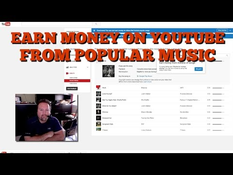 How To Earn Money On Youtube From Popular Songs