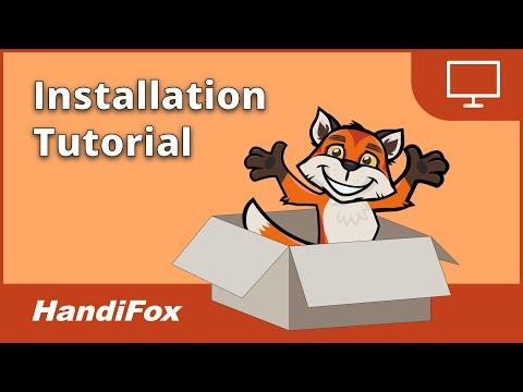 HandiFox Installation Tutorial