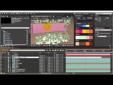 Creating a 3D Sticker Peel With Cinema 4D and After Effects