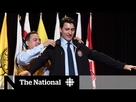 Trudeau welcomed by First Nations chiefs, but pipelines threaten their relationship