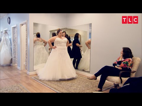 Whitney Can't Find A Wedding Dress That She Likes | My Big Fat Fabulous Life