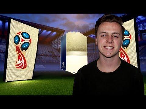 NIEUWE ICON + ZIEKE SPELERS IN MIJN EERSTE WORLD CUP PACK OPENING! FIFA18