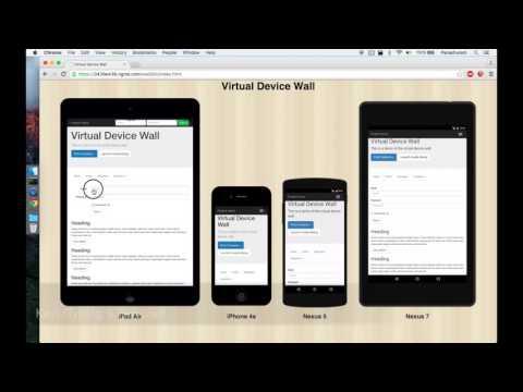 Virtual Device Wall