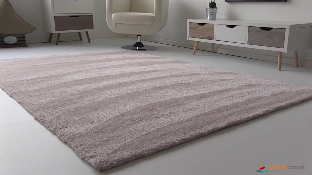 """global-carpet präsentiert den modernen kuschel-teppich """"nicki"""" - youtube"""