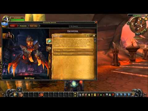 WoW PTR Patch 4.2 - Dungeon Journal Preview