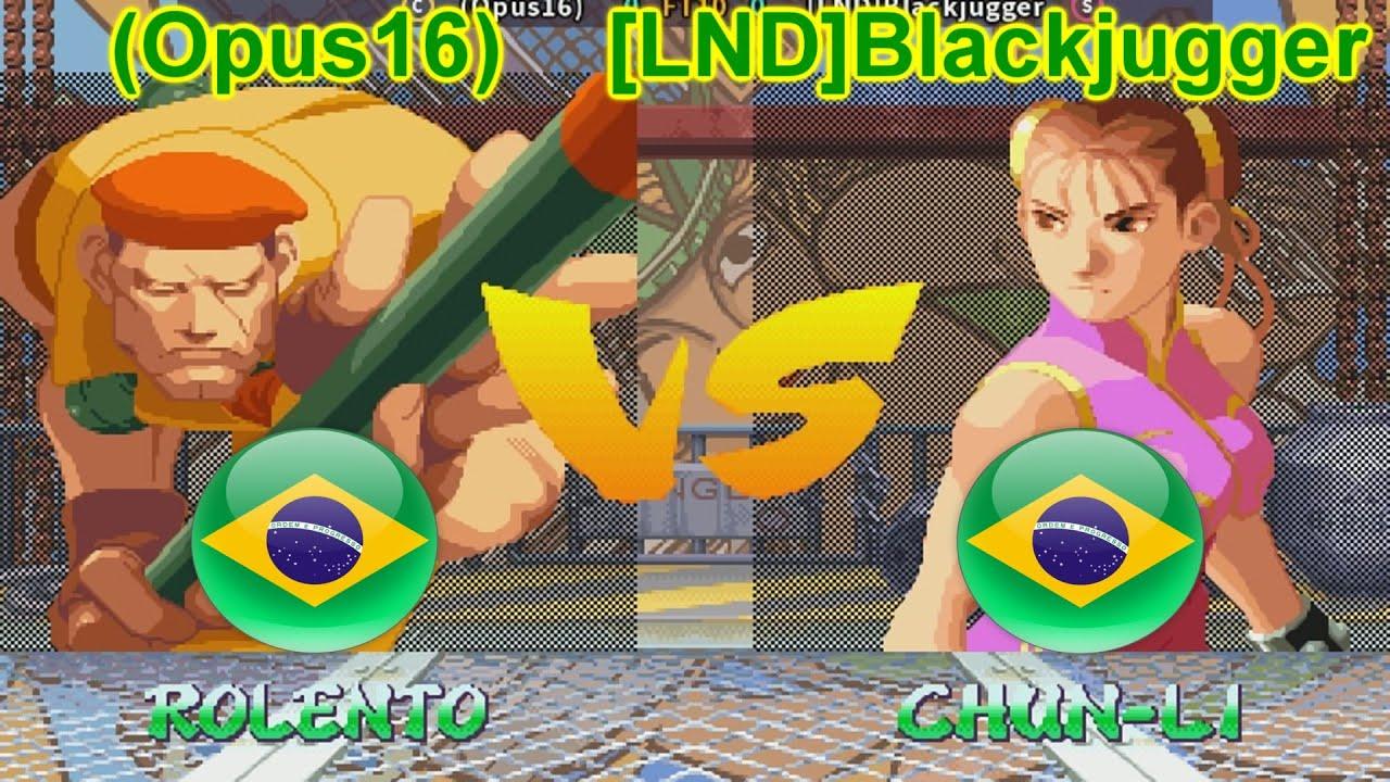 Street Fighter Alpha 2 - (Opus16) vs [LND]Blackjugger FT10